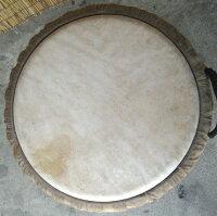 エボニー(黒檀)ジャンベ〜フォラ〜《H.60cm〜No.11》☆≪牛皮≫