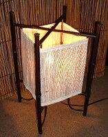 竹フレームのランプスタンド〜小〜