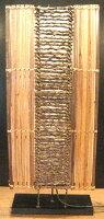 竹と木の枝コラージュのシルエットランプ☆