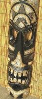 バリ島の木彫りマスク☆100cmF☆