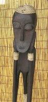 木彫りエスニックドール《アローン》