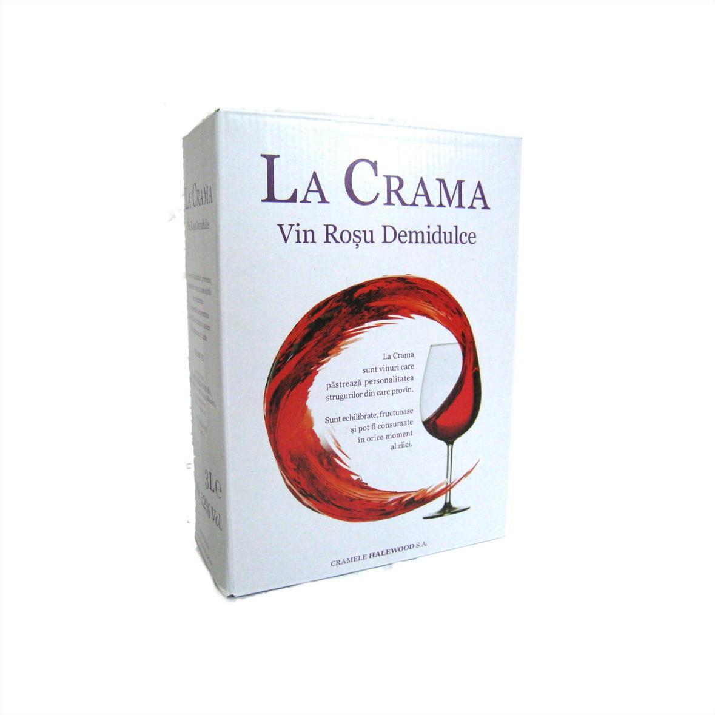 【ルーマニアワイン】【箱ワイン】【ハレウッド】ルーマニアワインを存分に堪能する バックインボックス 赤 3L やや甘口