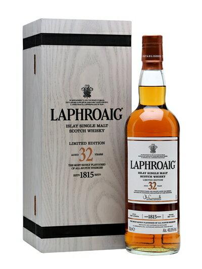★貴重品★ ラフロイグ 32年熟成 700ml 46.6%  LAPHROAIG 32YEARS 700ml 46.6%  ※2015年5月瓶詰※