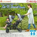 【予約販売:ピスタチオ(10月中旬から末頃入荷予定)】BabyTrend(ベビートレンド) シットアンド スタンド ダブル /ピスタチオ