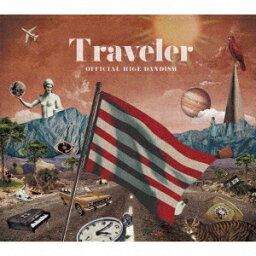 <strong>Official髭男dism</strong>/Traveler(初回限定Live DVD盤)(DVD付)