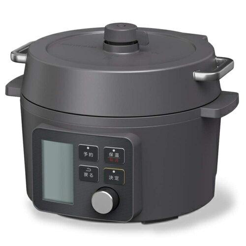 アイリスオーヤマ KPC-MA2-B(ブラック) 電気圧力鍋 2.2L