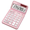 シャープ EL-VN82-PX(エレガントピンク) カラフル電卓 12桁