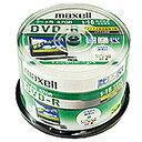 マクセル DRD47WPD.50SP データ用 DVD-R 4.7GB 1回記録 プリンタブル 16倍速 50枚