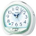 セイコー QM745M(緑パール) 目覚まし時計