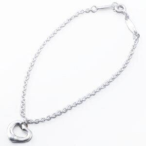 Tiffany&Co. 23318768 ミニオープンハート ブレスレット シルバー