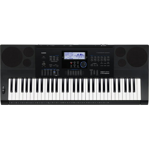 CASIO CTK-6200 ハイグレードキーボード 61鍵盤