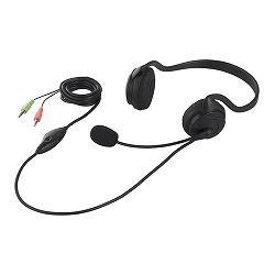 バッファロー BSHSN02BK(ブラック) ヘッドセット 両耳 ネックバンド式 ノイズ低減