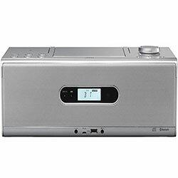 JVC RD-W1-S(シルバー) CDポータブルシステム 【送料無料】【在庫あり】16時までの注文で当日出荷可能!