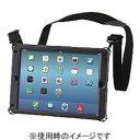 エレコム TB-A14HVBK(ブラック) ZeroshockHardケース ベルト付 iPad Air2用