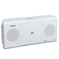 東芝TY-C24-W(ホワイト)_CDラジオ