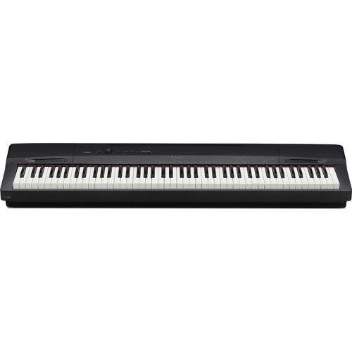 【長期保証付】CASIO PX-160-BK(ソリッドブラック調) Privia(プリヴィア) 電子ピアノ 88鍵盤