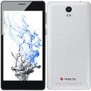 Freetel FTJ152B-PRIORI3S-WH(パールホワイト) Priori3S LTE SIMフリー LTE対応 16GB