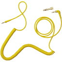 AIAIAI C09 Coiled Yellow w/adaptor(イエロー) ケーブル