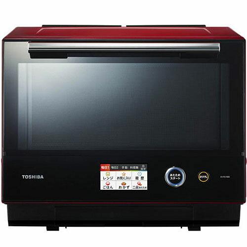 【長期保証付】東芝 ER-PD7000-R(グランレッド) 石窯ドーム 過熱水蒸気オーブンレンジ 30L