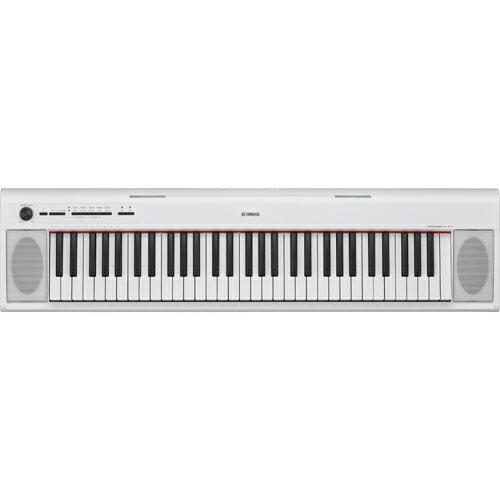 ヤマハ NP-12WH(ホワイト) piaggero(ピアジェーロ) 電子キーボード 61鍵盤