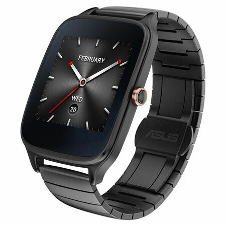 ASUS WI501Q-BQC-GM04(ガンメタル/メタル) ASUS ZenWatch 2 腕時計タイプ