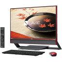 NEC PC-DA770FAR(クランベリーレッド) LAVIE Desk All-in-one 23.8型液晶 TVチューナー搭載