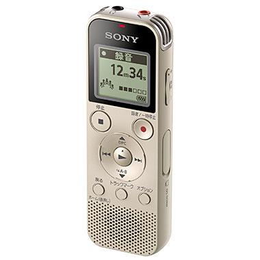 ソニー ICD-PX470F/N(ゴールド) ICレコーダー 4GB