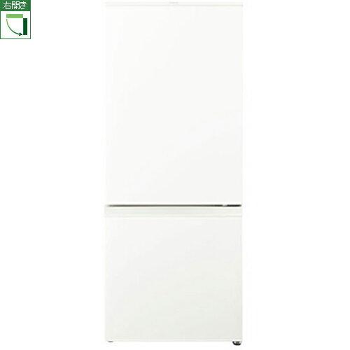 アクア AQR-18F-W(ミルク) 2ドア冷蔵庫 右開き 184L