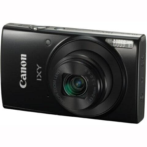 【長期保証付】CANON キヤノン コンパクトデジタルカメラ ブラック IXY 210 手ブレ補正/Wi-Fi機能/約2000万画素/光学10倍ズーム
