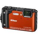 ニコン Nikon コンパクトデジタルカメラ 防水 COOLPIX W300(オレンジ) クールピッ