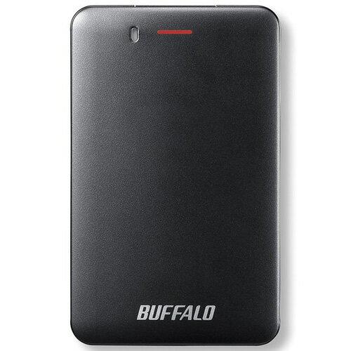 バッファロー SSD-PM240U3A-B(ブラック) 外付SSD 240GB USB3.1接続 耐衝撃