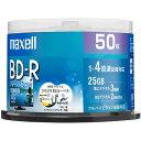 マクセル BRV25WPE.50SP 録画・録音用 BD-R 25GB 一回(追記) 録画 プリンタブル 4倍速 50枚