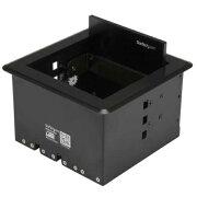 StarTech BOX4CABLE ケーブル/コード収納ボックス テーブルに埋め込むタイプ