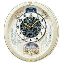 セイコー RE579S(薄金色パール) からくり・アミューズ 電波掛時計