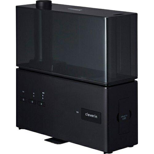 ドウシシャ KMWV-301C-BK(ブラック) クレベリンLED搭載 超音波式加湿器