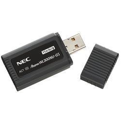 NEC PA-WL300NU/GS AtermWL300NU-GS USB無線LANアダプタ 11n/g/b対応