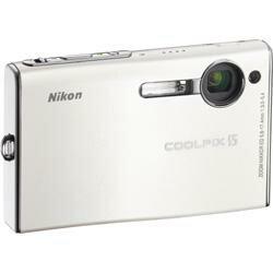 Nikon 600万画素デジタルカメラ グロスホワイト 『COOLPIX S5WT』