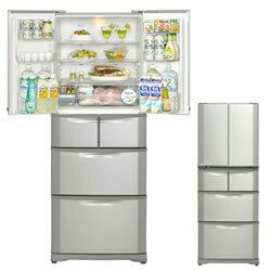 サンヨー 6ドア冷凍冷蔵庫 清潔製氷 はずして洗お SR-F371M