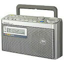 パナソニック RF-U350-S(シルバー) FM/AM 2バンドラジオ FM緊急警報放送対応