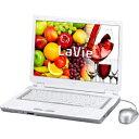 【送料無料】NEC 【2007年秋冬モデル】ノートパソコン LaVie L スタンダードタイプ LL550/KG(パウダーホワイト) PC-LL550KG1B (ベスト電器オリジナル) [PCLL550KG1B]