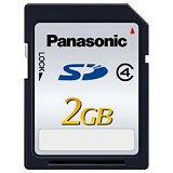 Panasonic RP-SDL02GJ1K SDカード 2GB