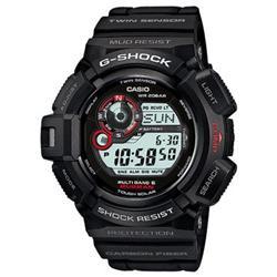 【長期保証付】CASIO GW-9300-1JF G-SHOCK(ジーショック) MASTER OF G MUDMAN ソーラー電波 メンズ