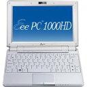 ASUS 【10月25日発売】 ノートパソコン Eee PC 1000H パールホワイト EEEPC1000HWHI07