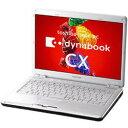 東芝 【2009年春モデル】 ノートパソコン dynabook CX/48H PACX48HLR (リュクスホワイト) PACX48HLR 【送料無料】
