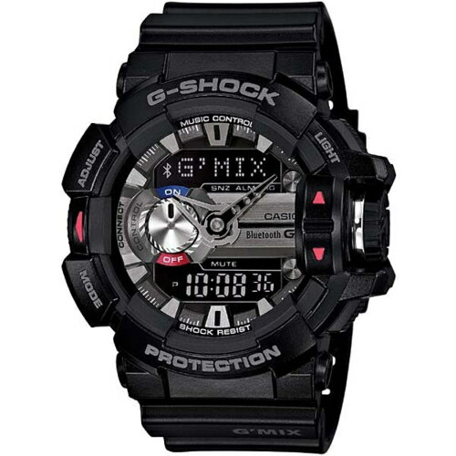 【長期保証付】CASIO GBA-400-1AJF G-SHOCK ジーショック G'MIX(ジーミックス) メンズ