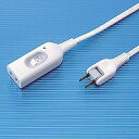 サンワサプライ TAP-B7-1 中間スイッチ付延長コード 1m