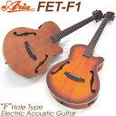 エレアコ アリア ARIA FET-F1 アコギ エレクトリック アコースティックギター 【シールド&クロスプレゼント!】【送料無料】