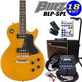 エレキギター初心者 Blitz BLP-SPL/YL入門セット16点【エレキギター初心者】【】