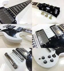 エレキギター初心者セット入門セットBSG-61/WHSGタイプ入門セット13点【エレキギター初心者】【エレクトリックギター】【送料無料】【smtb-TD】