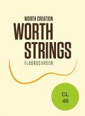 ワースストリングス Worth Strings フロロカーボン ウクレレ弦セット クリア ライト CL 【ネコポス(np)送料210円(ポスト投函)】 [旧メール便]